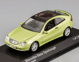 MERCEDES-BENZ C-Klasse Sport Coupe (2001), light green metallic