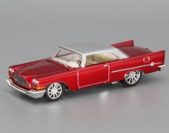 CHRYSLER 300C (1957), red / silver