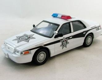 FORD Crown Victoria Полиция Мексики, Полицейские Машины Мира 36, белый