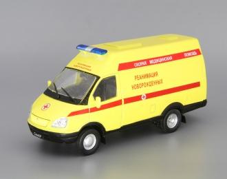 (Уценка!) СЕМАР 3234 Реанимация Новорожденных, Автомобиль на службе 40, желтый