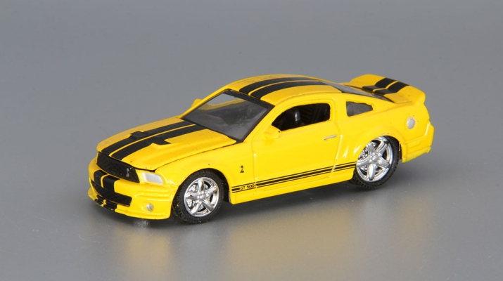 SHELBY GT500 (2007), yellow / black