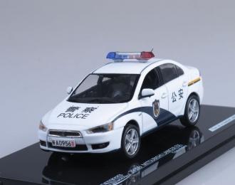MITSUBISHI Lancer Х China Police (2009), white