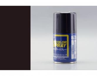 Аэрозольная краска (100 мл) METAL BLACK (в баллоне)