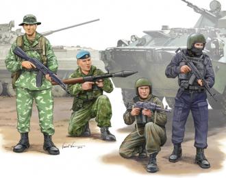 Сборная модель Солдаты  Russian Special Operation Force
