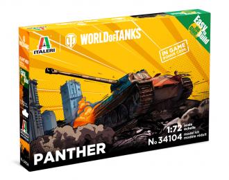 Сборная модель Танк PANTHER - WoT