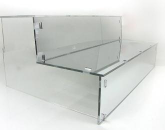 """Подставка под модели """"Лесенка"""", зеркальная 37см"""
