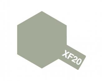XF-20 Medium Grey (краска эмалевая, средне-серый матовый), 10мл.