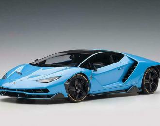 Lamborghini Centenario LP770-4 2017 (blue)