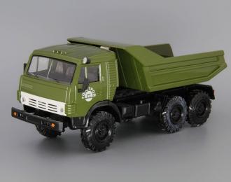 Камский грузовик 5511 Горстрой, зеленый