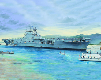 Сборная модель USS Enterprise CV-6