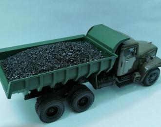 Груз в кузов Уголь для КрАЗ-256Б (НАП)
