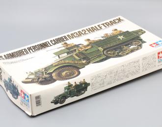 Сборная модель  U.S. Armoured Personnel Carrier M3A2 Half Track