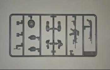 Сборная модель Фигура, Боец подразделения «Дельта» (Могадишо, 1993 г.)