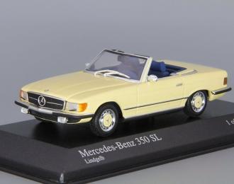 MERCEDES-BENZ 350SL R107 (1972), yellow