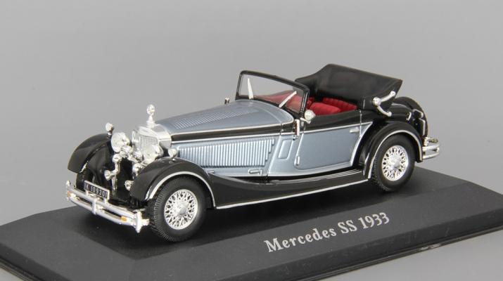 MERCEDES-BENZ SS (1933), black / blue