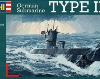Сборная модель Немецкая подводная лодка тип IIB