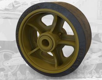 Набор дополнений сварных дорожных колес для американского танка M3 Lee / M4 Sherman.