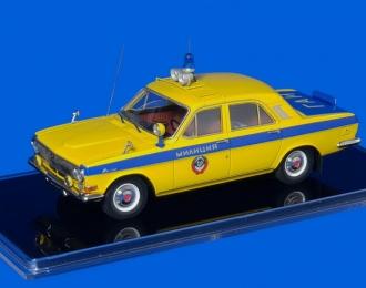 Горький 24 Милиция Москва (68-63 моц; опытный) 1968/69 г.г.