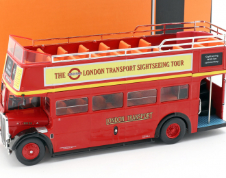 """AEC Regent RT """"London Transport Sightseeing Tour"""" Open-Top 1950 Red"""