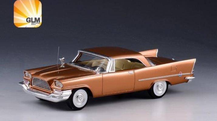 CHRYSLER 300C Hardtop 1957 Gold