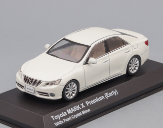 TOYOTA Mark X Premium Early, white pearl crystal shine