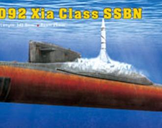 Сборная модель Подводная лодка PLAN Type 092 Hia Class submarine