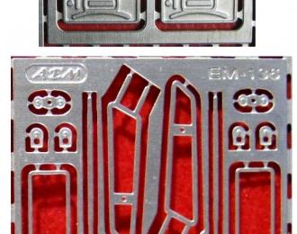 Фототравление Комплект зеркал ЗиЛ-130, никелирование