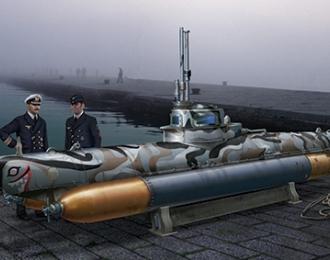 Сборная модель Biber Midget Submarine
