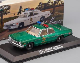 """DODGE Monaco """"Hazzard County Sheriff"""" 1975 (из к/ф """"Смоки и бандит"""") (Greenlight!)"""