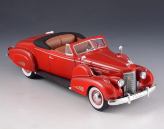 CADILLAC V16 Convertible Coupe (открытый) 1938 Red