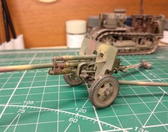 ЗИС-2 (57-мм противотанковая пушка) запыленная