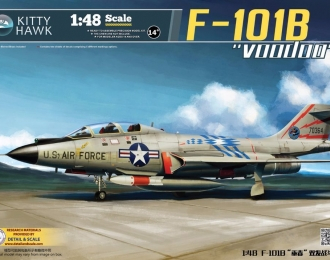 Сборная модель Американский истребитель-перехватчик McDonnell F-101B Voodoo