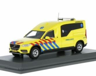 Nilsson XC90 Ambulance Скорая Помощь на базе Volvo XC90 Нидерланды желтый с красным и синим