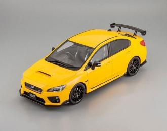 SUBARU WRX STI S20, yellow