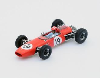 Brabham BT11 #19 4th German GP 1964 Joseph Siffert