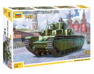 Сборная модель Советский тяжелый танк Т-35