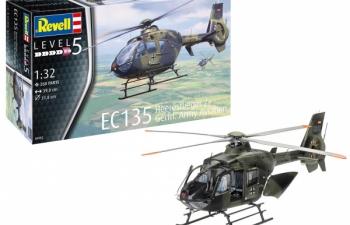 Сборная модель Немецкий вертолет EC135 Heeresflieger