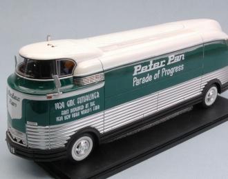 GM Futurliner, dark green / white Parade of Progress (without showcase)