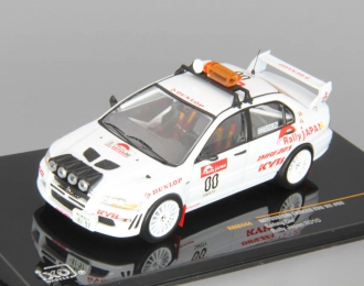 MITSUBISHI Lancer Evo VII #00 Safety Car Rally Japan (2010), white