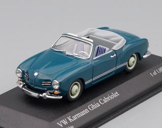 VOLKSWAGEN Karmann Ghia Cabriolet (1957), blue