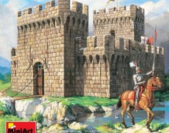 Сборная модель Наборы для диорам  ASSAULT OF MEDIEVAL FORTRESS