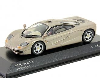 MCLAREN F1, platinum grey