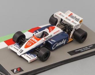 Toleman TG 184 Айртон Сенна (1984), Formula 1 Auto Collection 6