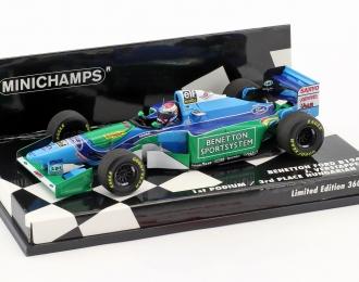 Benetton Ford B194 Versappen 1ST F1 podium Hungarian GP 1994