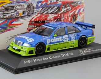 MERCEDES-BENZ C-Class DTM Team Persson B. Maylander #23 (1995), blue / green