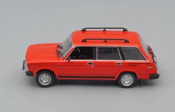 Lada Riva 1500 Estate, Автолегенды СССР 276, красный