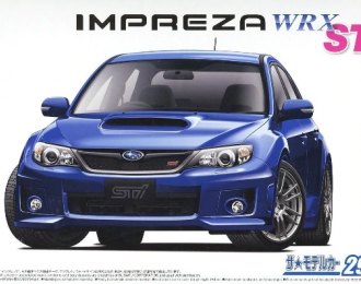 Сборная модель Subaru Impreza WRX STI GRB '10