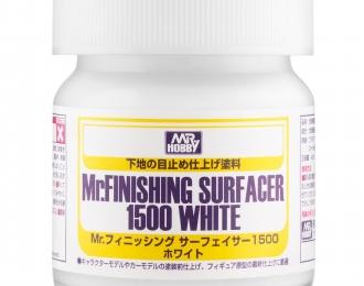Грунтовка MR.FINISHING SURFACER 1500 WHITE 40мл
