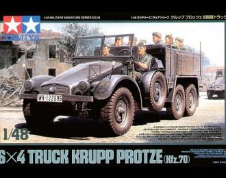 Машина 6х4 Krupp Protze (Kfz.70) с восьмью фигурами