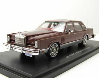 LINCOLN Continental Mk VI Signature Series 1980 Metallic Dark Red